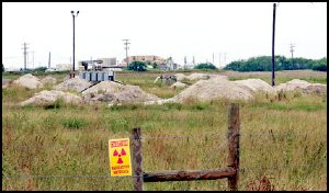 Abandoned Uranium Mine in Texas